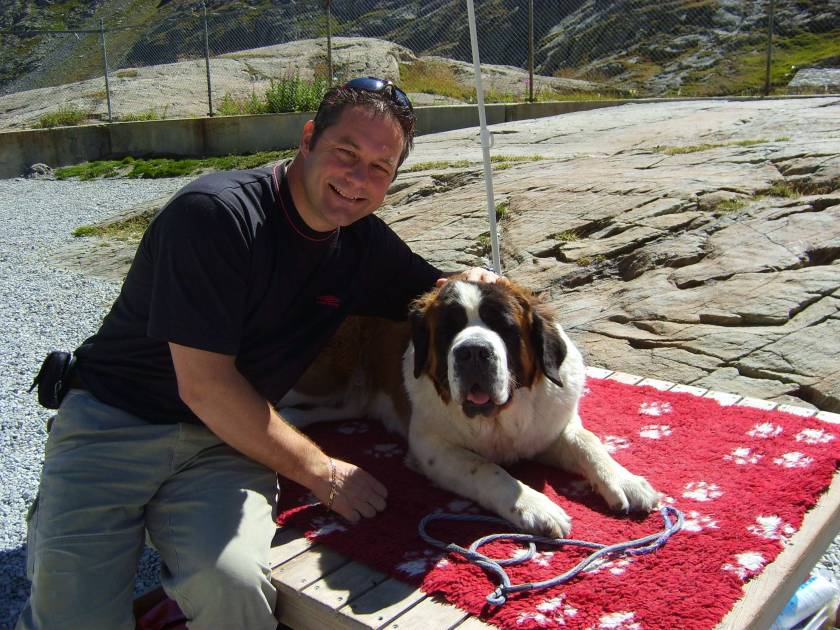VISIT THE ST BERNARD DOGS AT THEIR KENNELS