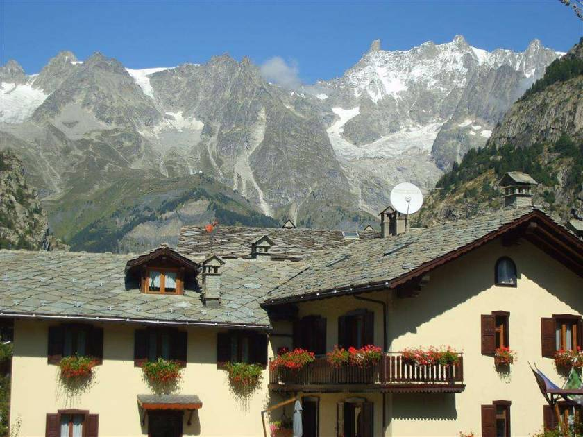 Courmayeur in the summer
