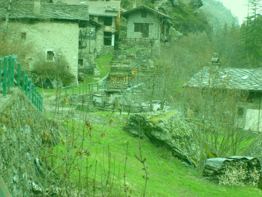 Village in Valgrisenche Valley
